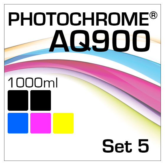 Photochrome AQ900 5-Flaschen Set 1000ml