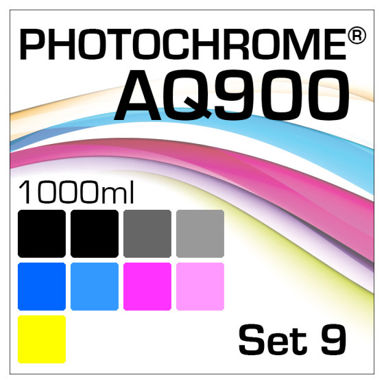 Photochrome AQ900 9-Flaschen Set 1000ml