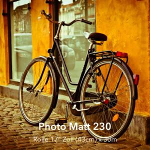 """farbenwerk Photo Matt 230 Rolle 17"""" (43cm) x 30m"""