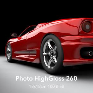 farbenwerk Photo HighGloss 260 13x18cm 100 Blatt