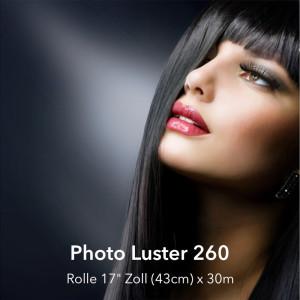 "farbenwerk Photo Luster 260 Rolle 17"" (43cm) x 30m"