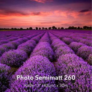 """farbenwerk Photo Semimatt 260 Rolle 17"""" (43cm) x 30m"""