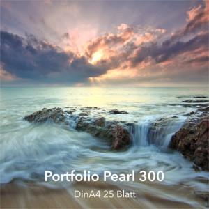 farbenwerk Fineart Portfolio Pearl 300 DinA4 25 Blatt