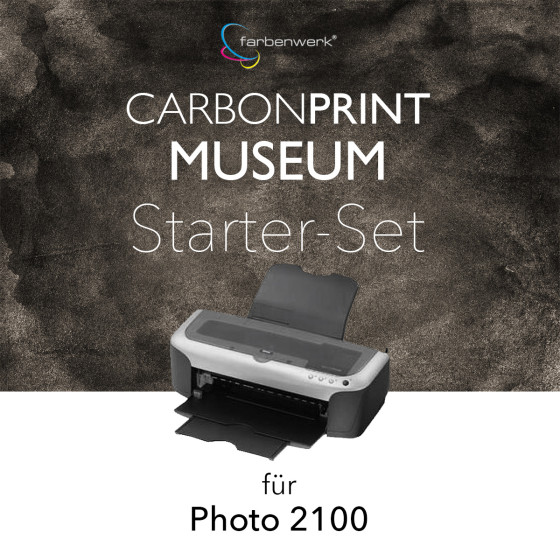 Starter-Set Carbonprint Museum für Photo 2100
