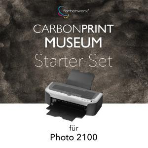 Starter-Set Carbonprint Museum für Photo 2100