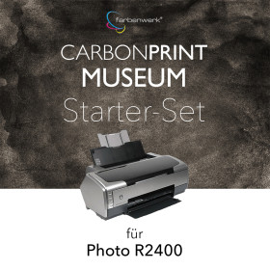 Starter-Set Carbonprint Museum für Photo R2400