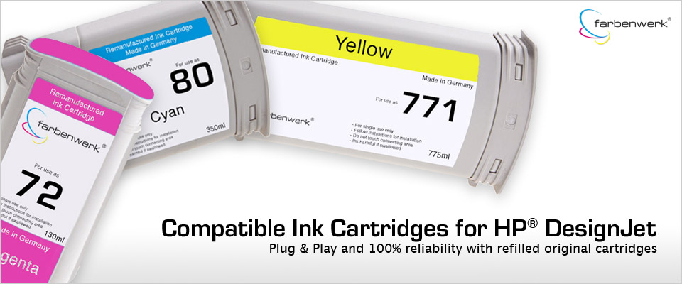 farbenwerk Ink for HP Designjet