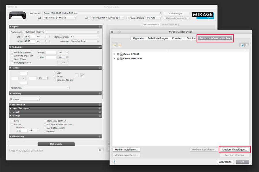 farbenwerk ICC-Profile in Mirage verwenden - Bild 3
