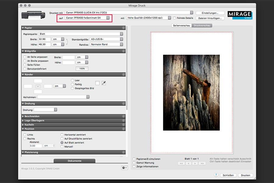 farbenwerk ICC-Profile in Mirage verwenden - Bild 8