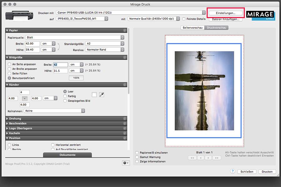 farbenwerk - Drucken mit Mirage Bild 2